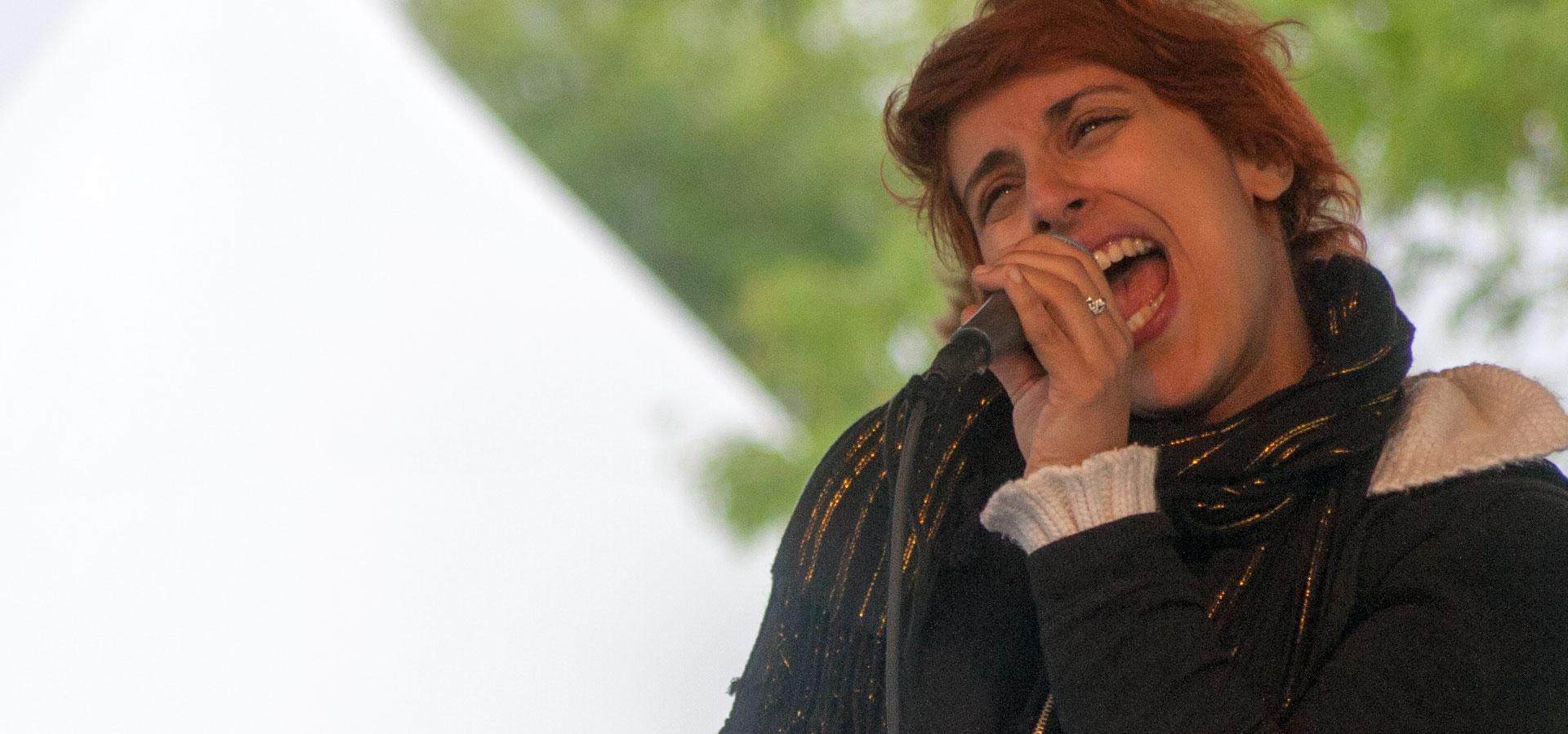 Franco Fete 2010: Queen Ka - spoken word