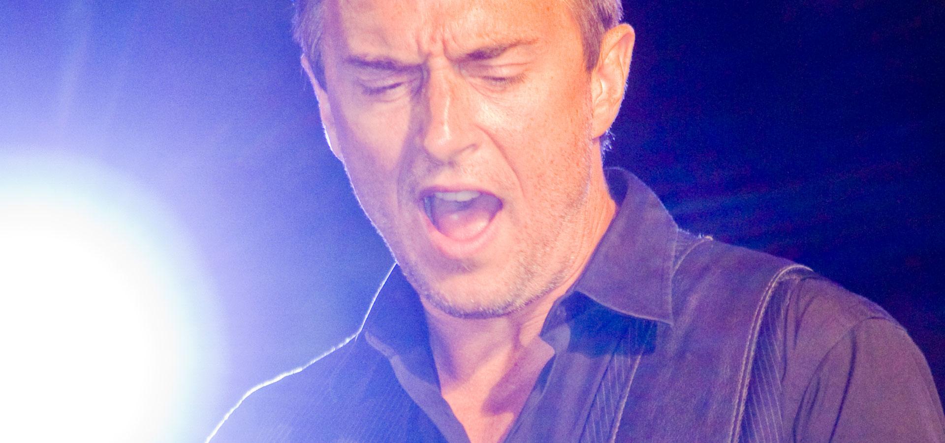 Colin James at Dundas Square for the Live Green Toronto Festival