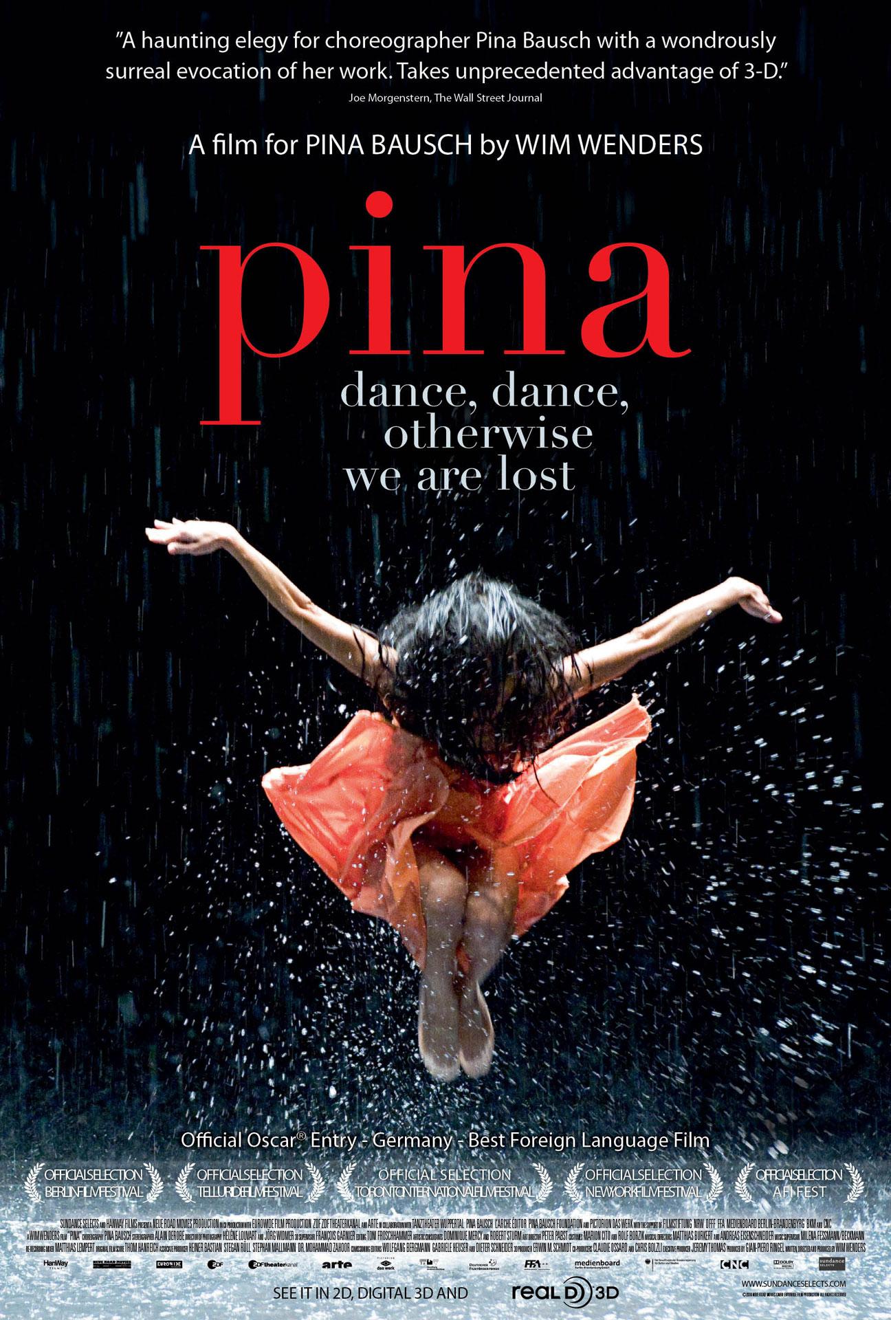 Pina: Pina Bausch movie poster