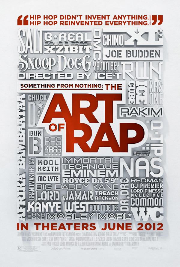 The Art of Rap: movie poster