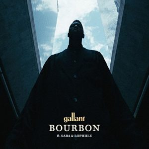 Bourbon by Gallant featuring Saba and Lophiile - single album cover